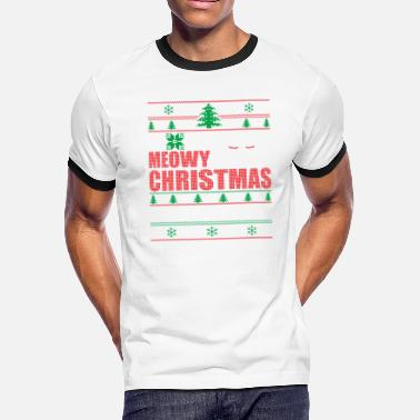 e6fbabf88 Shop Meowy-christmas-cat-tree-ugly-t-shirts... Gifts online ...