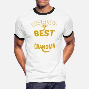 42e35c7b Corgi Grandma World's Best Corgi Grandma - Men's. Men's Ringer T- Shirt