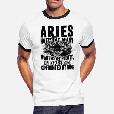 Confront Aries Confronted By None Shirt - Men's Ringer T-Shirt