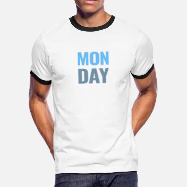 af2b86cdf4 Monday Days of the Week T-Shirt - Men's Ringer T