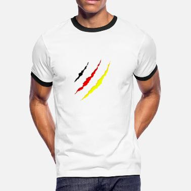 German Clothing German - under my clothes - Men's Ringer T-Shirt
