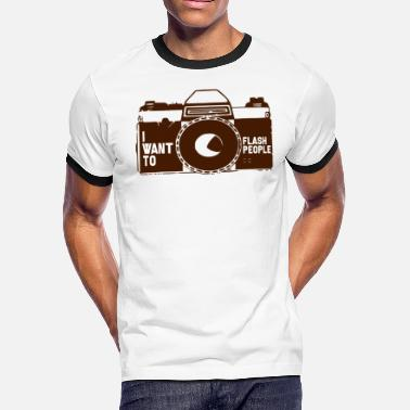 Aspect Ratio Photographer Photograph Photography Camera Gift - Men's Ringer T-Shirt