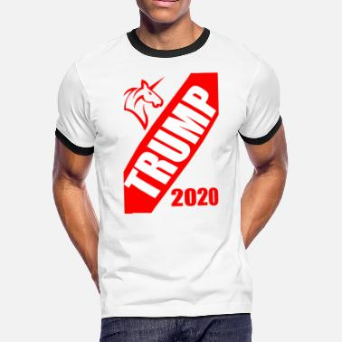 Ivanna Trump 2020 Unicorn Design - Men's Ringer T-Shirt
