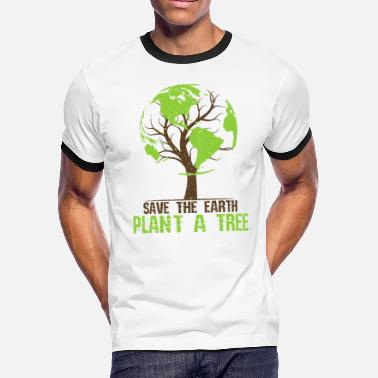 Earth Day Quotes Earth Day - Men's Ringer T-Shirt