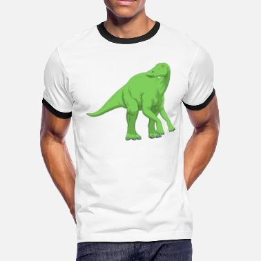 Space Dinosaurs Dinosaur - Men's Ringer T-Shirt