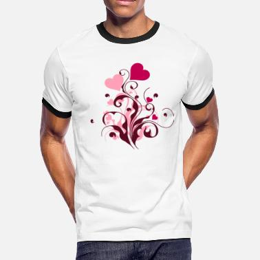 Heart - Men's Ringer T-Shirt