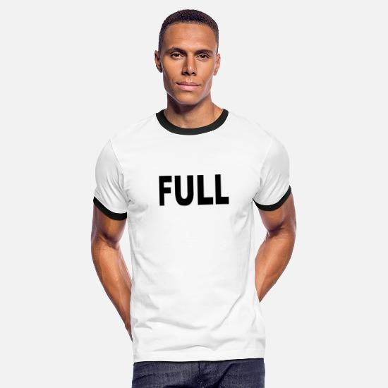 Full T-Shirts - Full - Men's Ringer T-Shirt white/black
