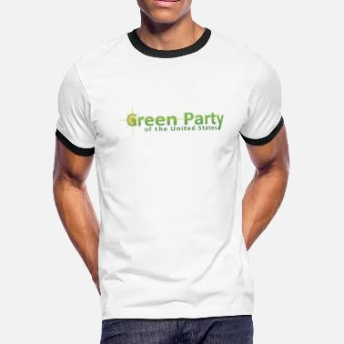 Green Party Logo US Green Party - Men's Ringer T-Shirt