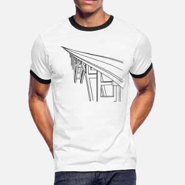 Bridge Vector Bridge Vector - Men's Ringer T-Shirt