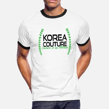 Couture Korea Couture - Couture is an Attitude - Men's Ringer T-Shirt