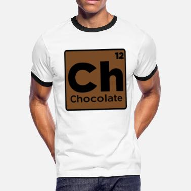 Elements Chocolate Chocolate Element - Men's Ringer T-Shirt