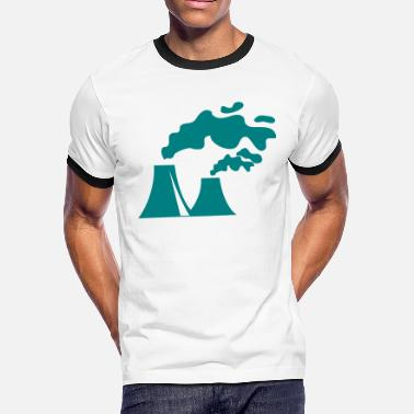 Pollute pollution - Men's Ringer T-Shirt