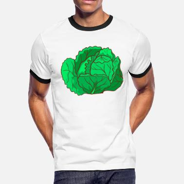 Savoy Savoy Cabbage - Men's Ringer T-Shirt