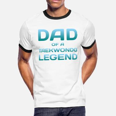 5e92d3acab49 Proud Dad Of A Taekwondo Fighter Tae Kwon Do - Men's Ringer. Men's  Ringer T-Shirt