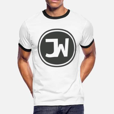 Johanne Grey Johannes With Logo - Men's Ringer T-Shirt