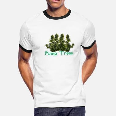 Water Pump Pump Trees - Men's Ringer T-Shirt