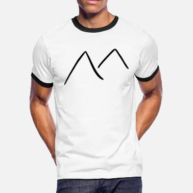 Mountaineering mountain - Men's Ringer T-Shirt