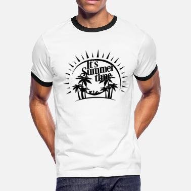 Outing It's Summer Time - Men's Ringer T-Shirt