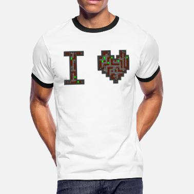 I Love Retro i love retro - Men's Ringer T-Shirt