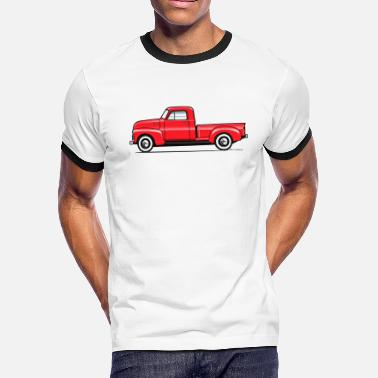 1949 Chevy Pickup 47-53 3W - Men's Ringer T-Shirt