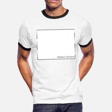 whiteboard - Men's Ringer T-Shirt