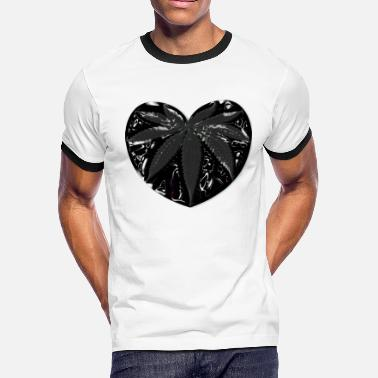 Black Heart Black heart - Men's Ringer T-Shirt