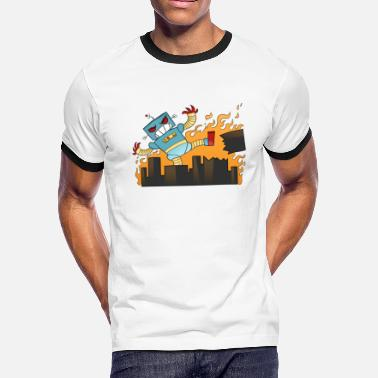 Destroyed DESTROY! DESTROY! - Men's Ringer T-Shirt