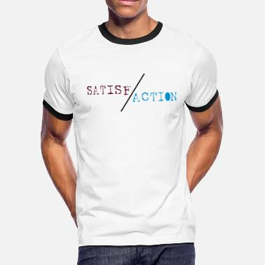 Faction SATIS-FACTION tricolor gift - Men's Ringer T-Shirt