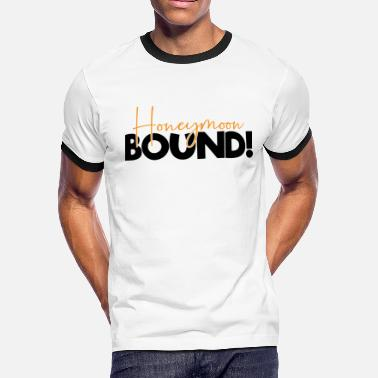 Bound HONEYMOOW BOUND - Men's Ringer T-Shirt