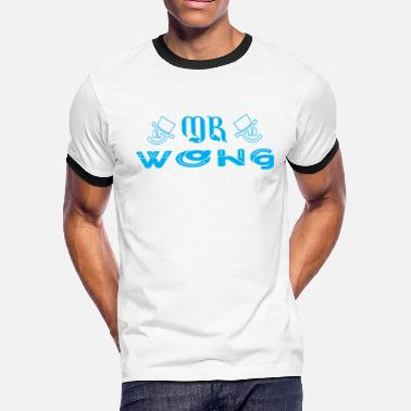 080ec01188 Wong Mr Wong - Men's Ringer T-Shirt