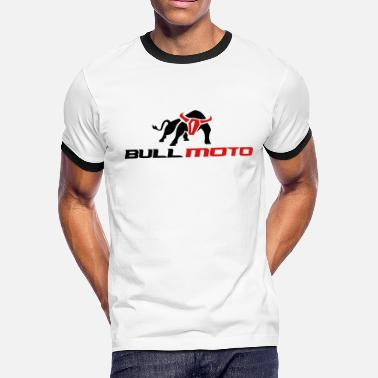 Moto Metal BULL MOTO Can Not Be Tamed - Men's Ringer T-Shirt
