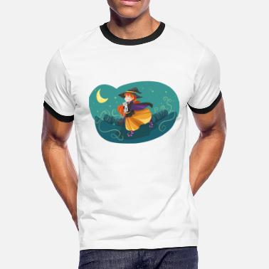 Witching Hour witch - Men's Ringer T-Shirt