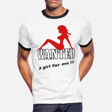 Wanted wanted by Claudia_moda - Men's Ringer T-Shirt