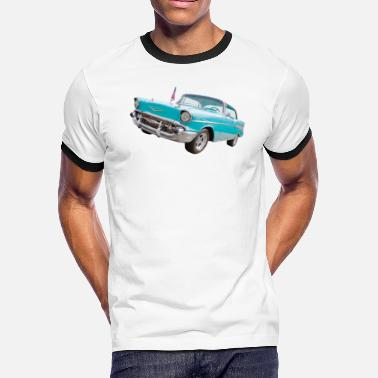Chevrolet 1957 Bel air chevy - Men's Ringer T-Shirt