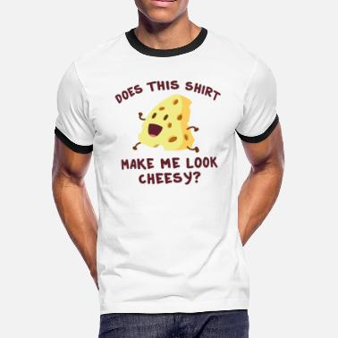 Cheesy Cheesy - Men's Ringer T-Shirt