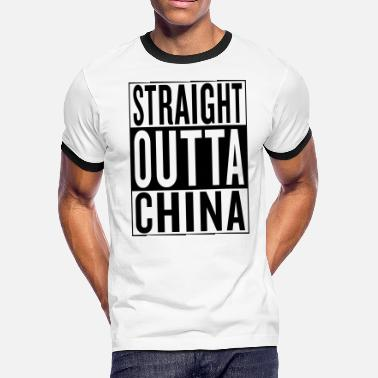Home Town Land Country State China - Men's Ringer T-Shirt