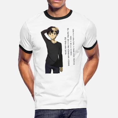 Online Kirito's Quote - Men's Ringer T-Shirt