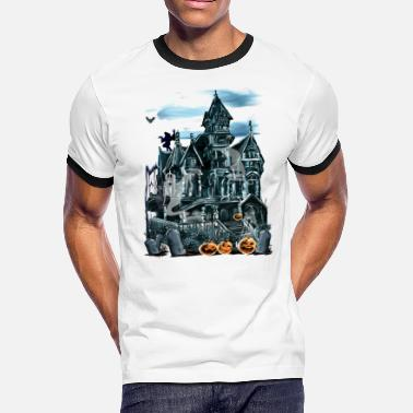 Haunted House Haunted House - Men's Ringer T-Shirt