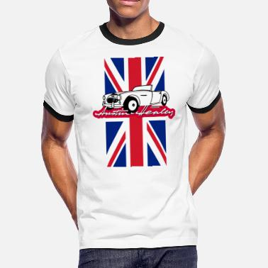 Ornament Classic Austin-Healey script and illustration - Men's Ringer T-Shirt