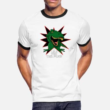 c7c16aa12 Shop I-love-you-this-much-t-rex T-Shirts online | Spreadshirt