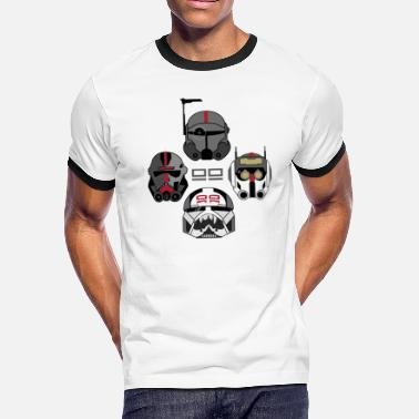 Clone The Bad Batch 2 | Geekdom Series | DopeyArt - Men's Ringer T-Shirt