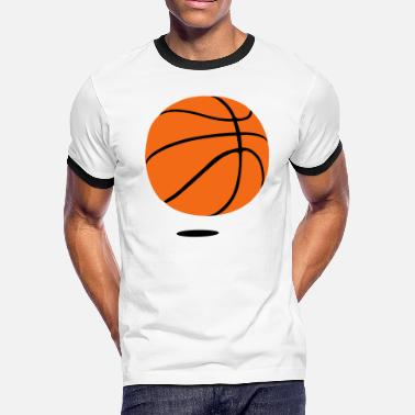 B Ball basketball - b ball - basket ball - Men's Ringer T-Shirt