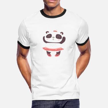 5d96218f Panda Family Sweet Panda Family Girl 11 - Men's Ringer ...