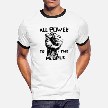 All Power to the People - Men's Ringer T-Shirt