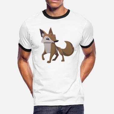 Coyote Animal Coyote - Men's Ringer T-Shirt