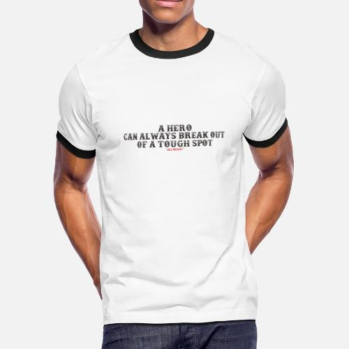 8f56144d38425 ALL MIGHT QUOTES1 Men s Ringer T-Shirt