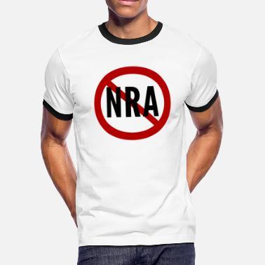 077b56e8 National Rifle Association Anti-NRA National Rifle Association - Men's  Ringer. Men's Ringer T-Shirt