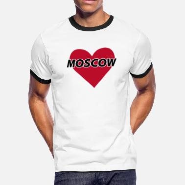 I Love Moscow I love Moscow - Men's Ringer T-Shirt