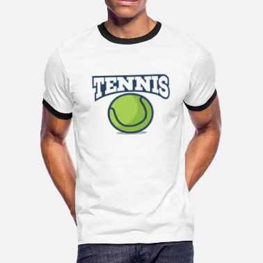 Tennis Anyone Tennis - Men's Ringer T-Shirt