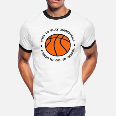 basketball - Men's Ringer T-Shirt